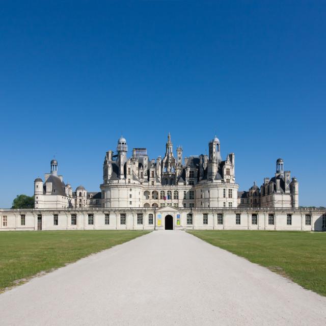 """""""Chateau Chambord"""" stock image"""