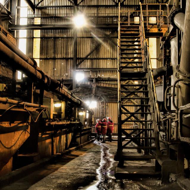 """""""Eerie Industry"""" stock image"""