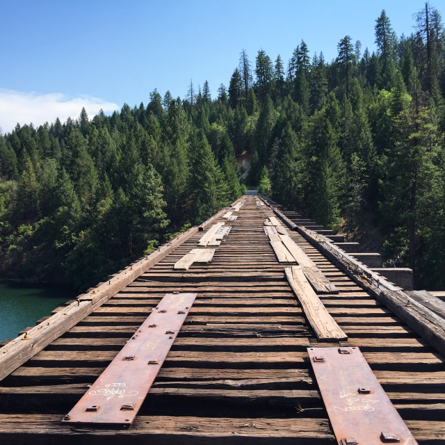 """Stand By Me Bridge"" stock image"