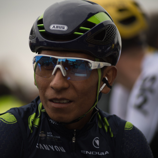 """Nairo Quintana Tour de France 2017"" stock image"