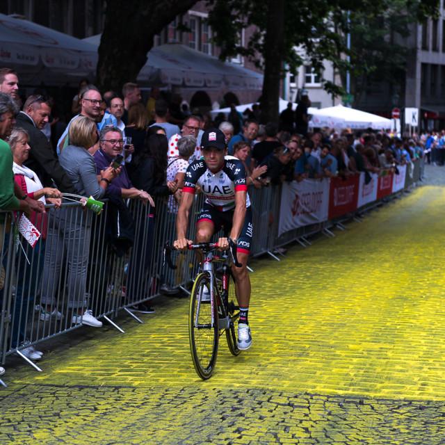 """Team Intro Tour de France 2017"" stock image"
