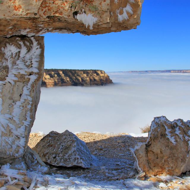 """Grand Canyon 10"" stock image"