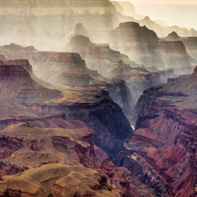 """Grand Canyon 11"" stock image"