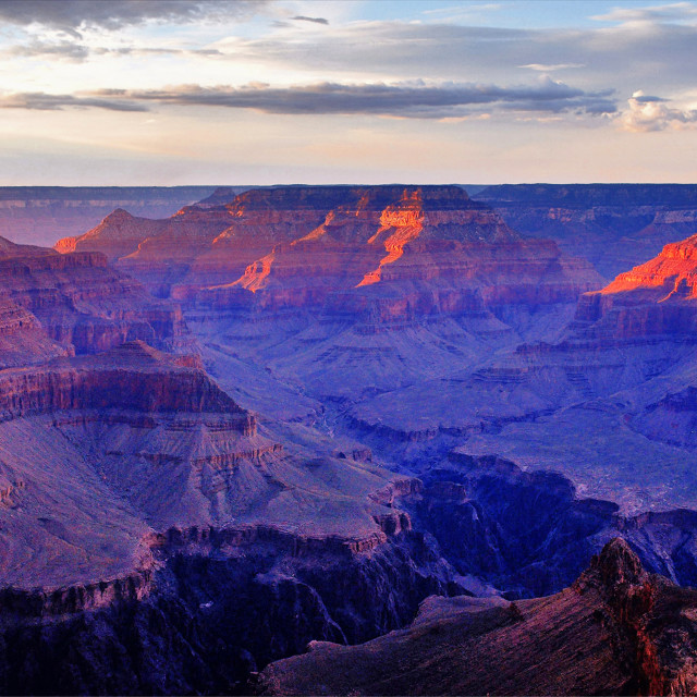 """Grand Canyon 18"" stock image"