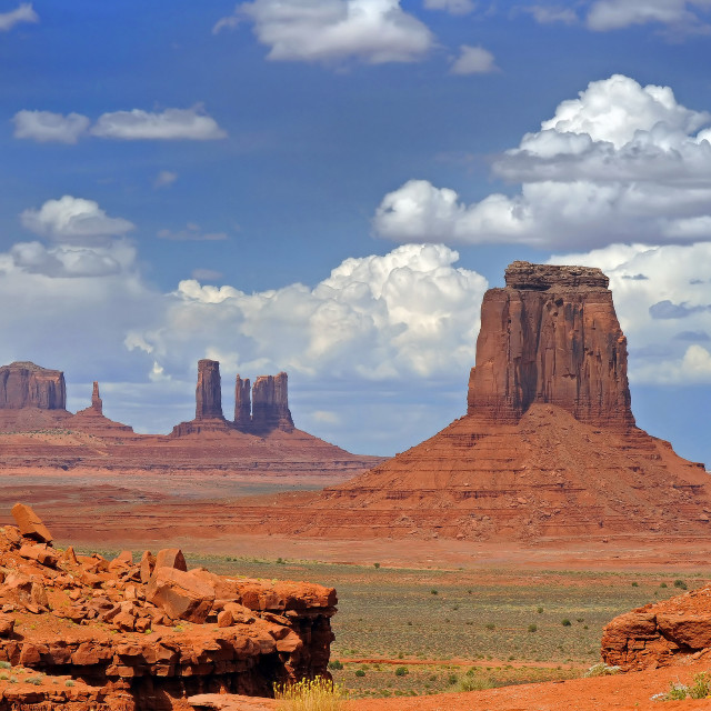 """""""Monument Valley 04"""" stock image"""