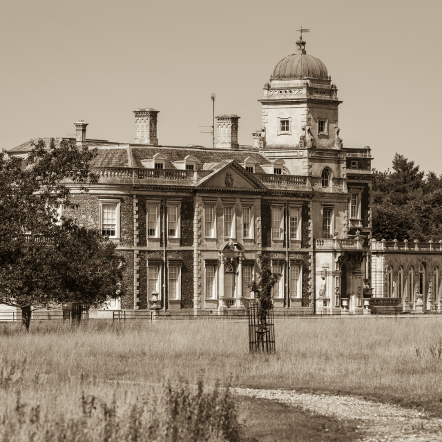 """""""The Old Manor House"""" stock image"""