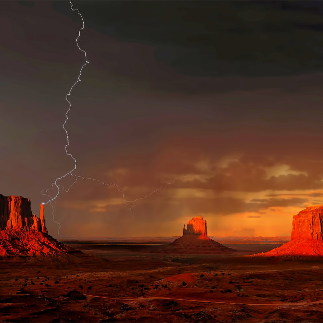 """Monument Valley 09"" stock image"