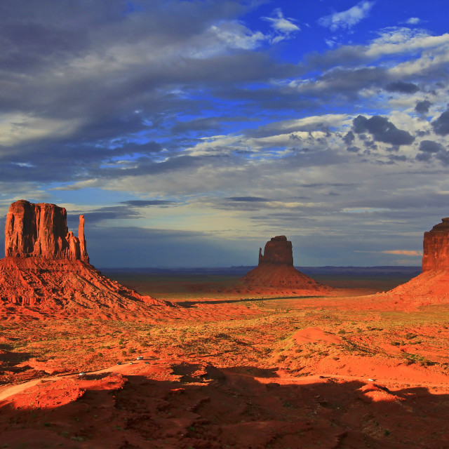 """Monument Valley 14"" stock image"