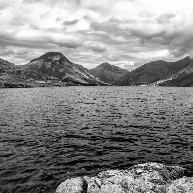 """""""Wasdale welcome"""" stock image"""