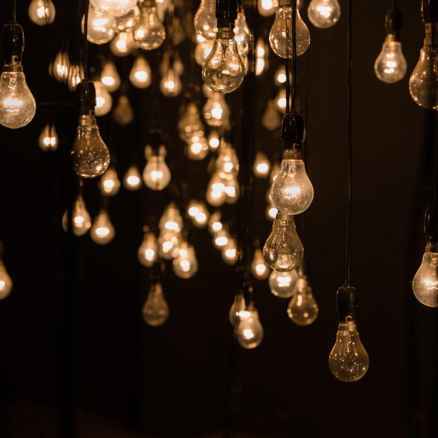 """Lamp art"" stock image"