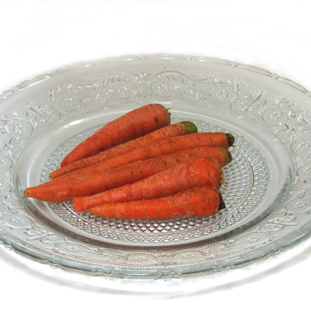"""Healthful Carrots"" stock image"