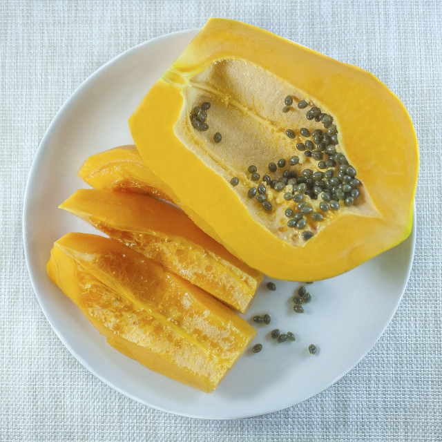 """Papaya"" stock image"