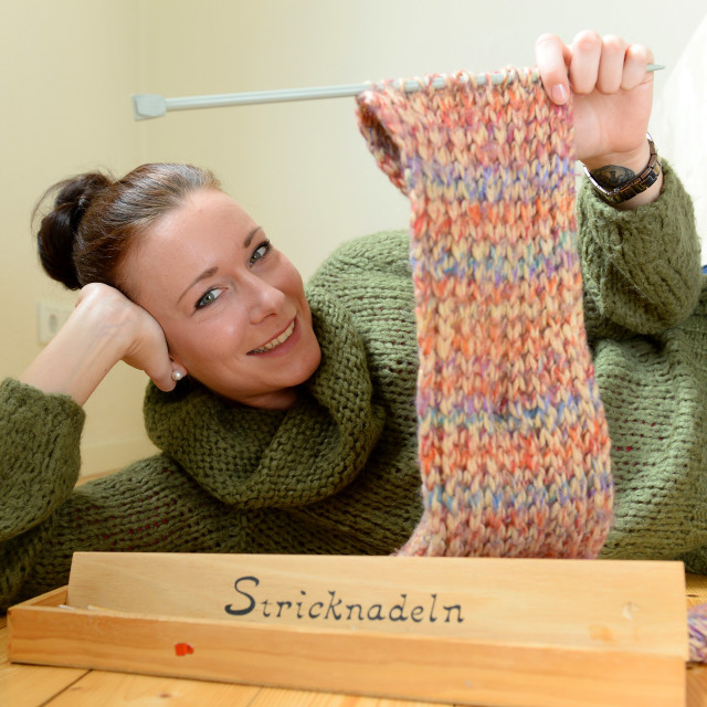 """Knitting"" stock image"