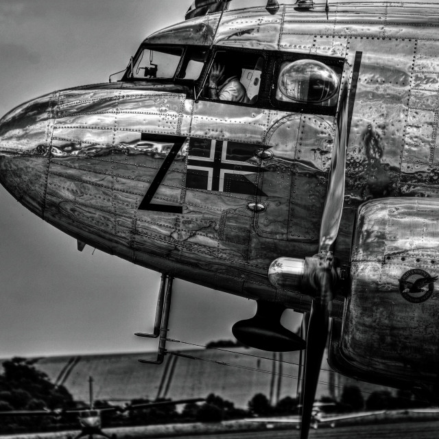 """DC3 Flying Legends"" stock image"