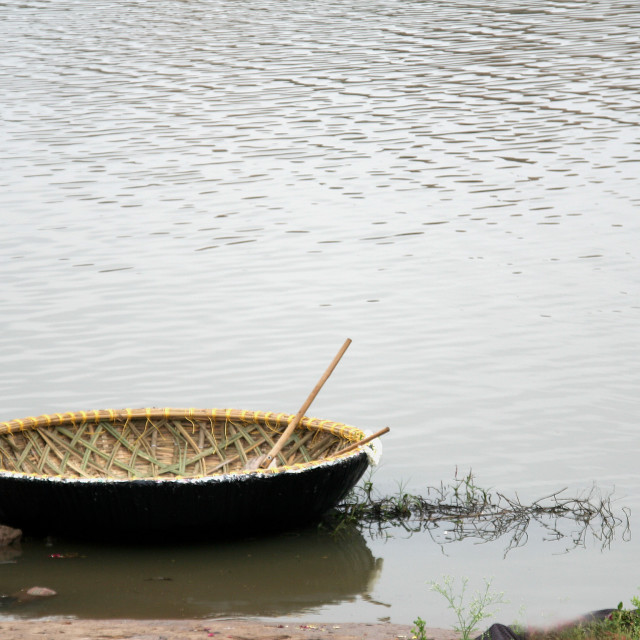 """""""New Coracle"""" stock image"""
