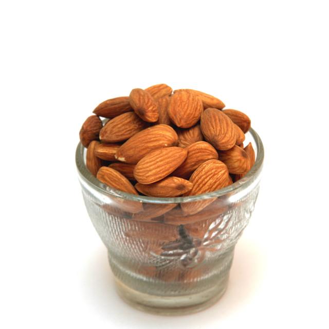 """Healthful Almonds"" stock image"