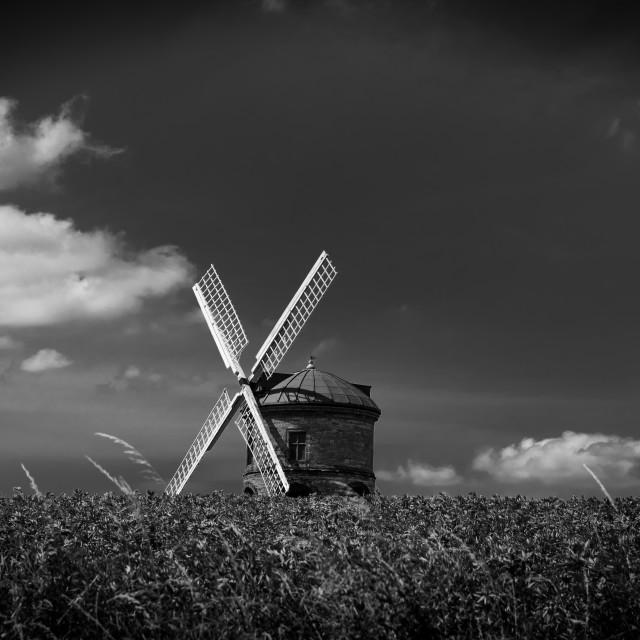 """Chesterton Windmill"" stock image"