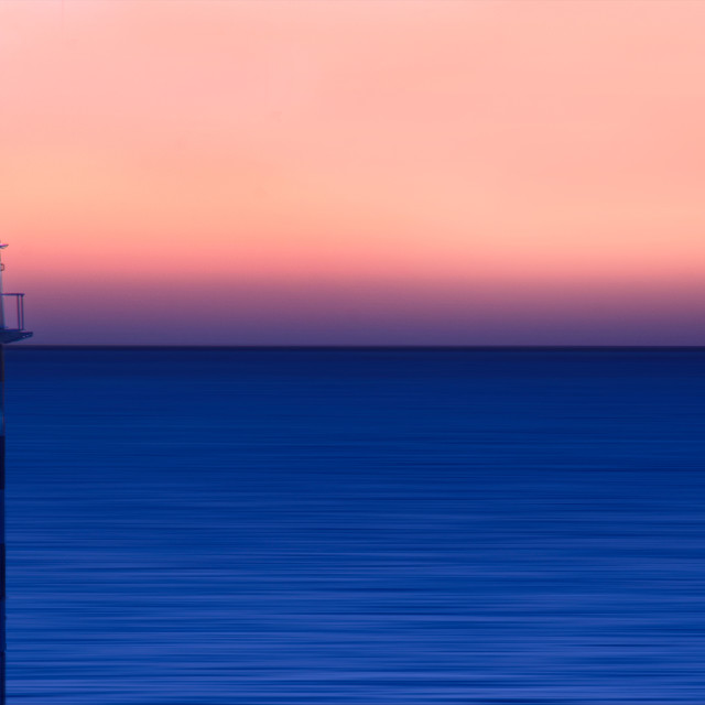 """Lighthouse: Bunbury, Western Australia"" stock image"