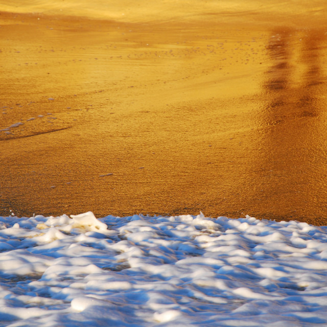 """Golden Sands"" stock image"