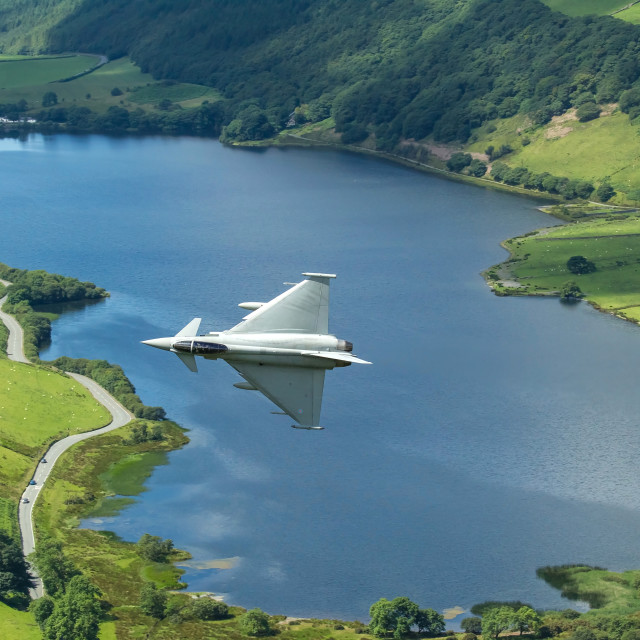 """Typhoon out of Corris"" stock image"