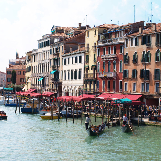 """Grand Canal Venice"" stock image"