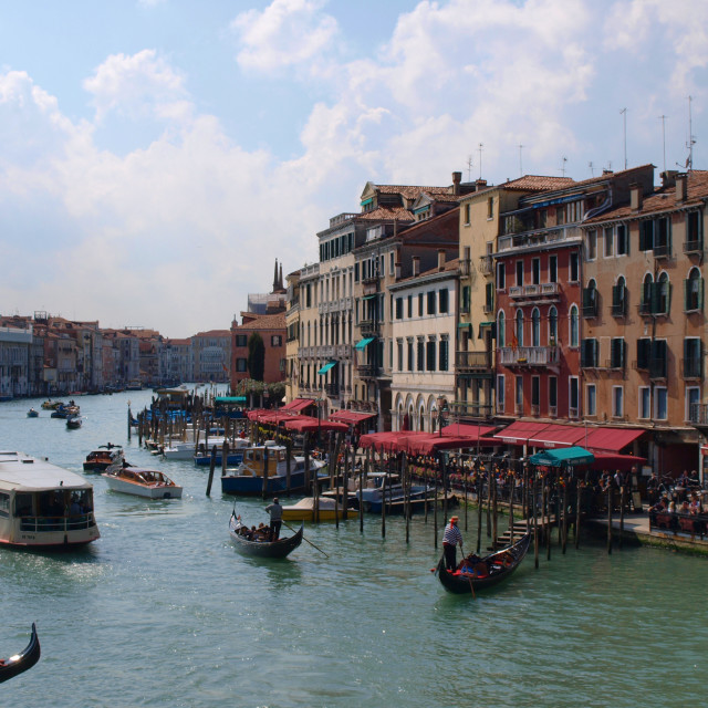 """Weekend in Venice - The Grand Canal"" stock image"