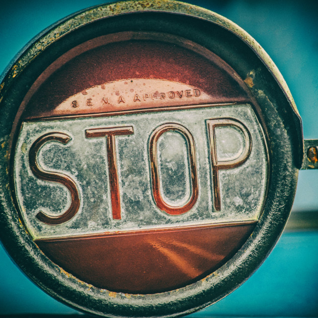 """Stop"" stock image"