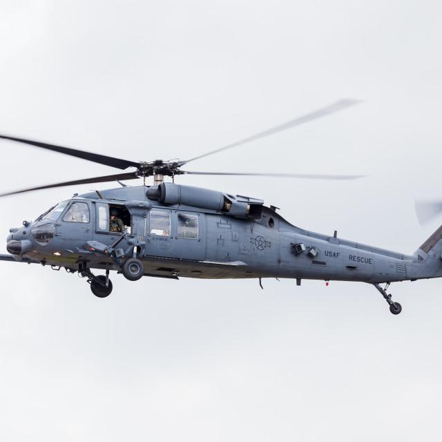 """USAF HH-60G Pave Hawk"" stock image"