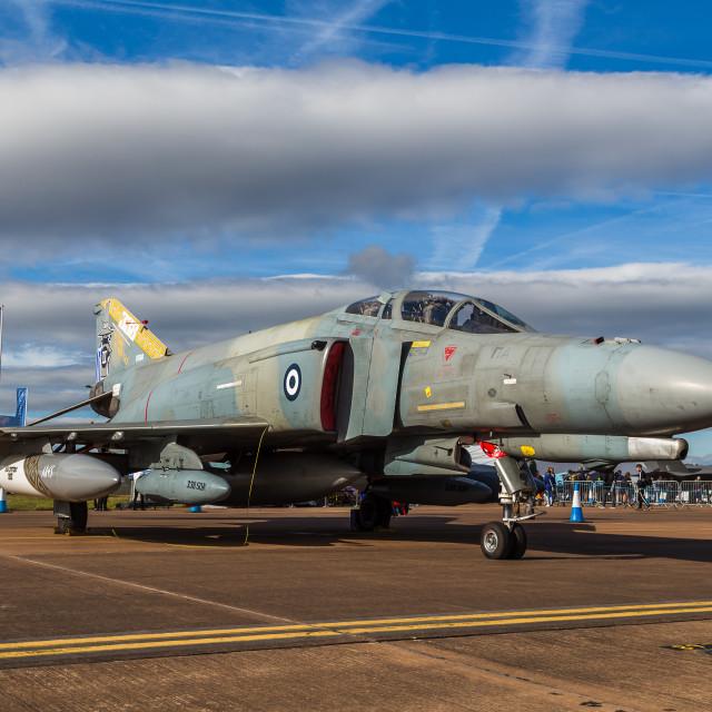 """Hellenic Air Force F-4E Phantom"" stock image"