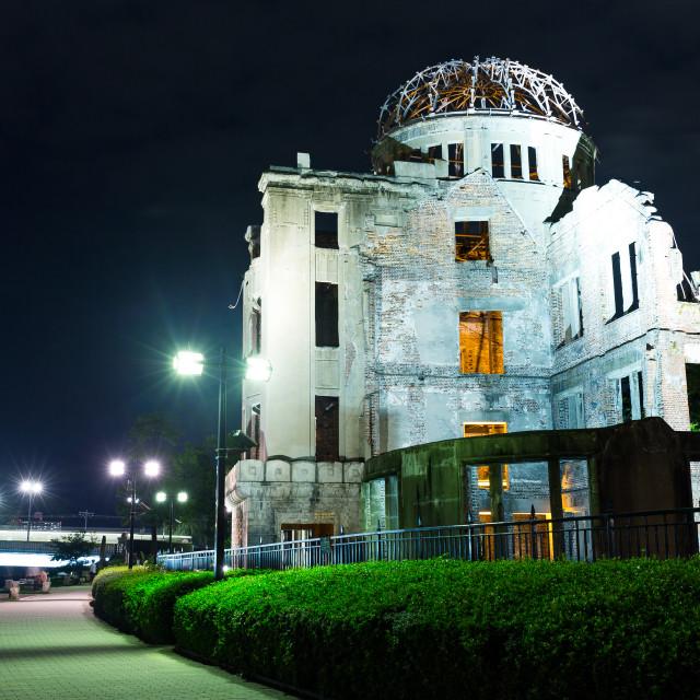 """""""Hiroshima dome"""" stock image"""