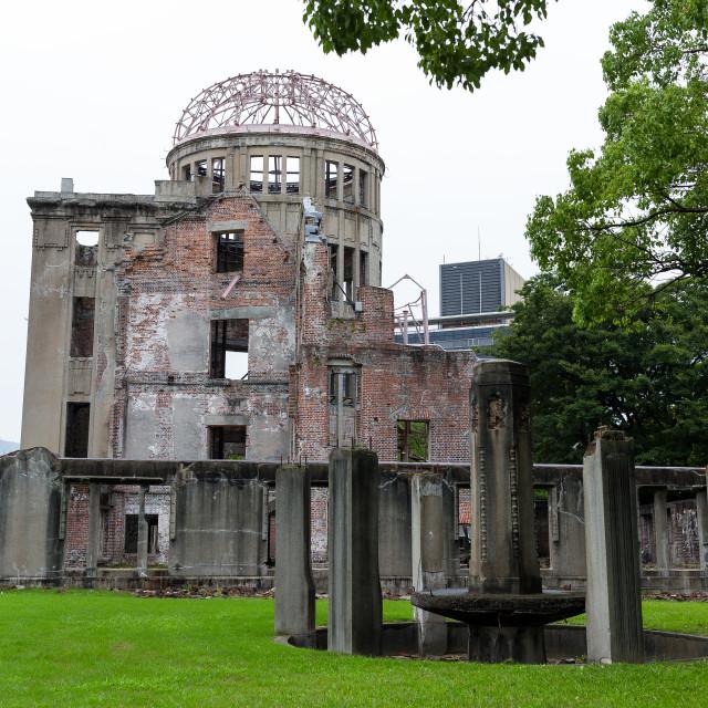 """Bomb Dome in Hiroshima city"" stock image"