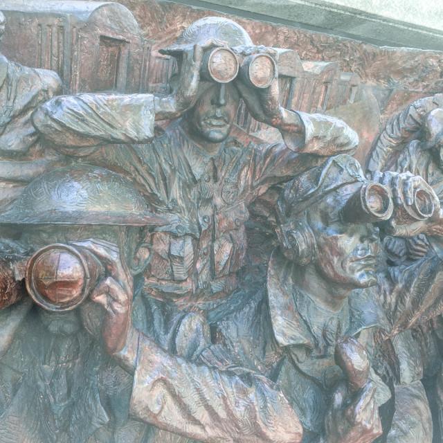 """Battle of Britain Monument"" stock image"