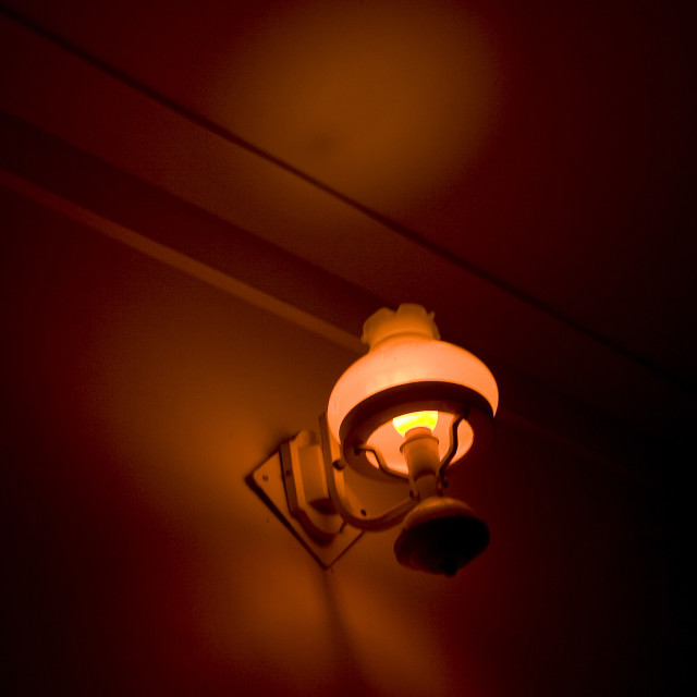 """Night Lamp Bracket"" stock image"