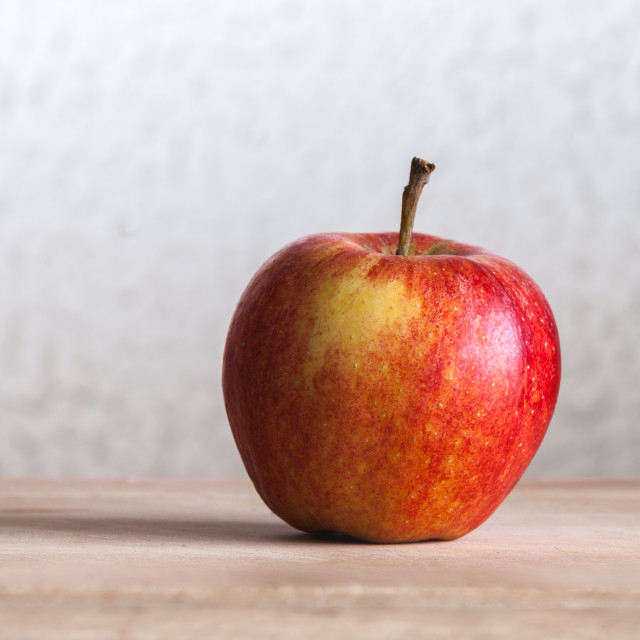 """Rosy apple"" stock image"