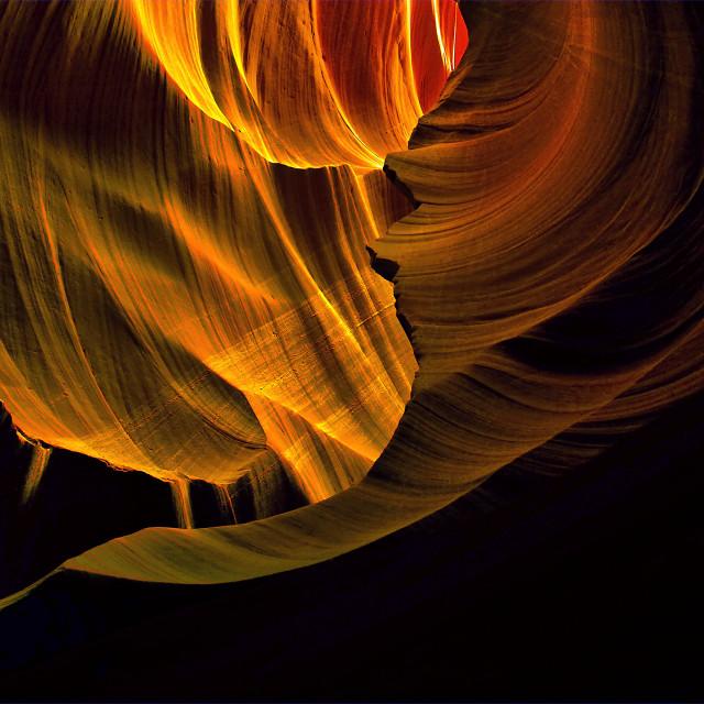 """Antelope Canyon 09"" stock image"