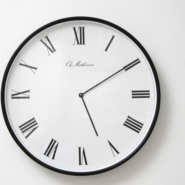 """""""analogue clock"""" stock image"""