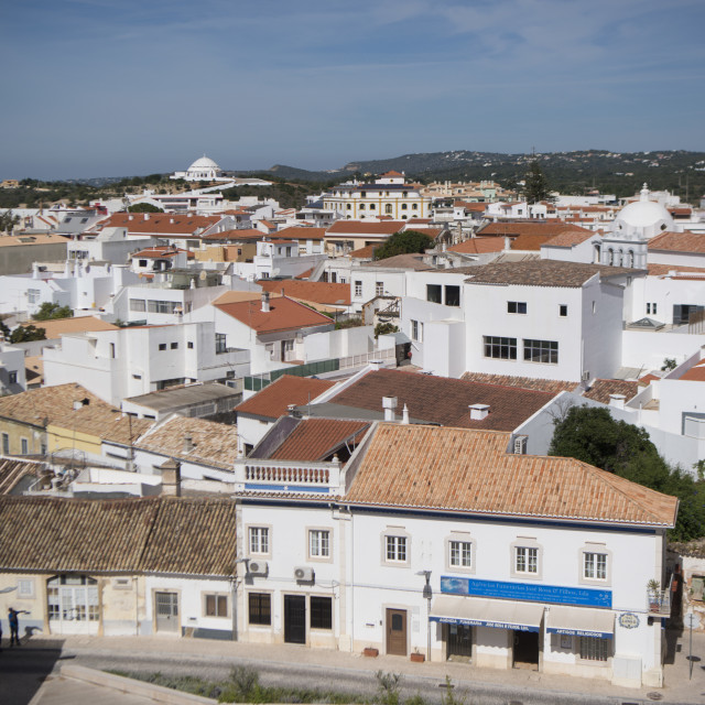 """PORTUGAL ALGARVE LOULE OLD CITY"" stock image"