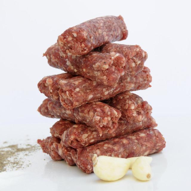 """""""Raw Kebab"""" stock image"""