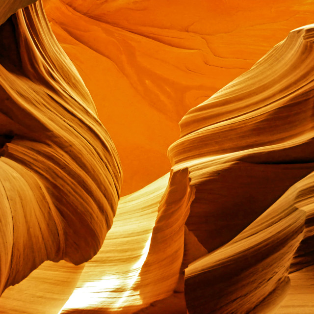 """Antelope Canyon 25"" stock image"