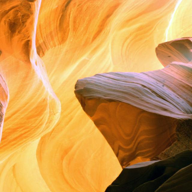 """Antelope Canyon 27"" stock image"