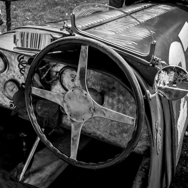 """""""Bugatti Racing Car"""" stock image"""