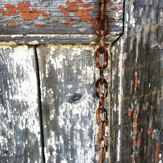 """Rusty chain"" stock image"