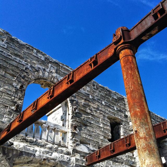 """Royal Naval Dockyard, Bermuda"" stock image"