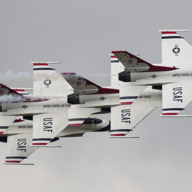 """""""Four ship in formation"""" stock image"""
