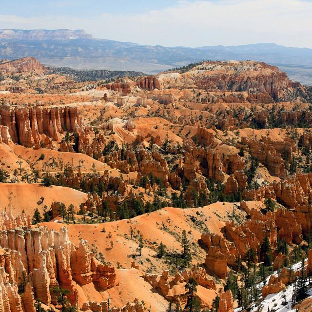 """Bryce Canyon 30"" stock image"
