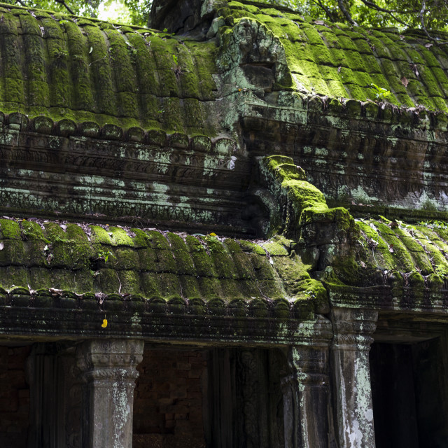 """World Heritage Site Angkor Wat Temple"" stock image"