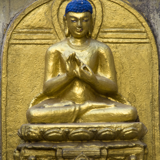 """Serene Mood of Buddha"" stock image"