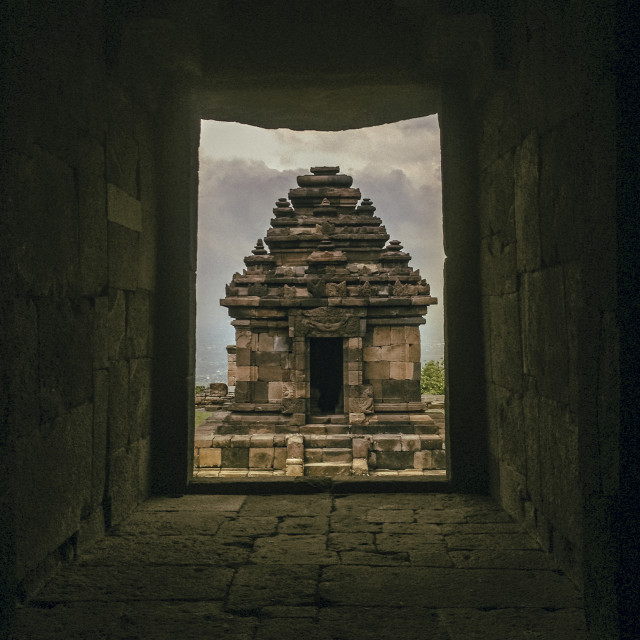 """Ijo Temple"" stock image"