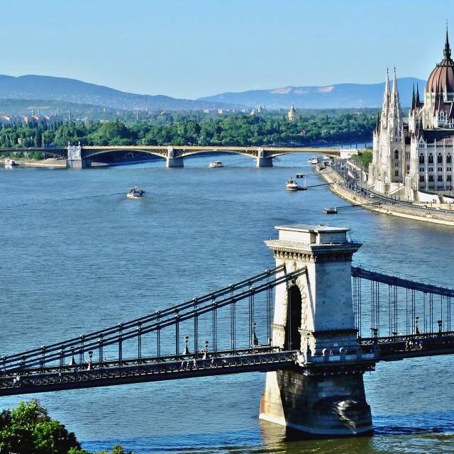 """""""Budapest's lansdcape"""" stock image"""