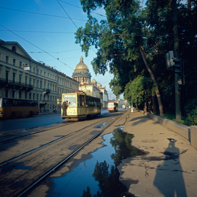 """Russland, Leningrad"" stock image"